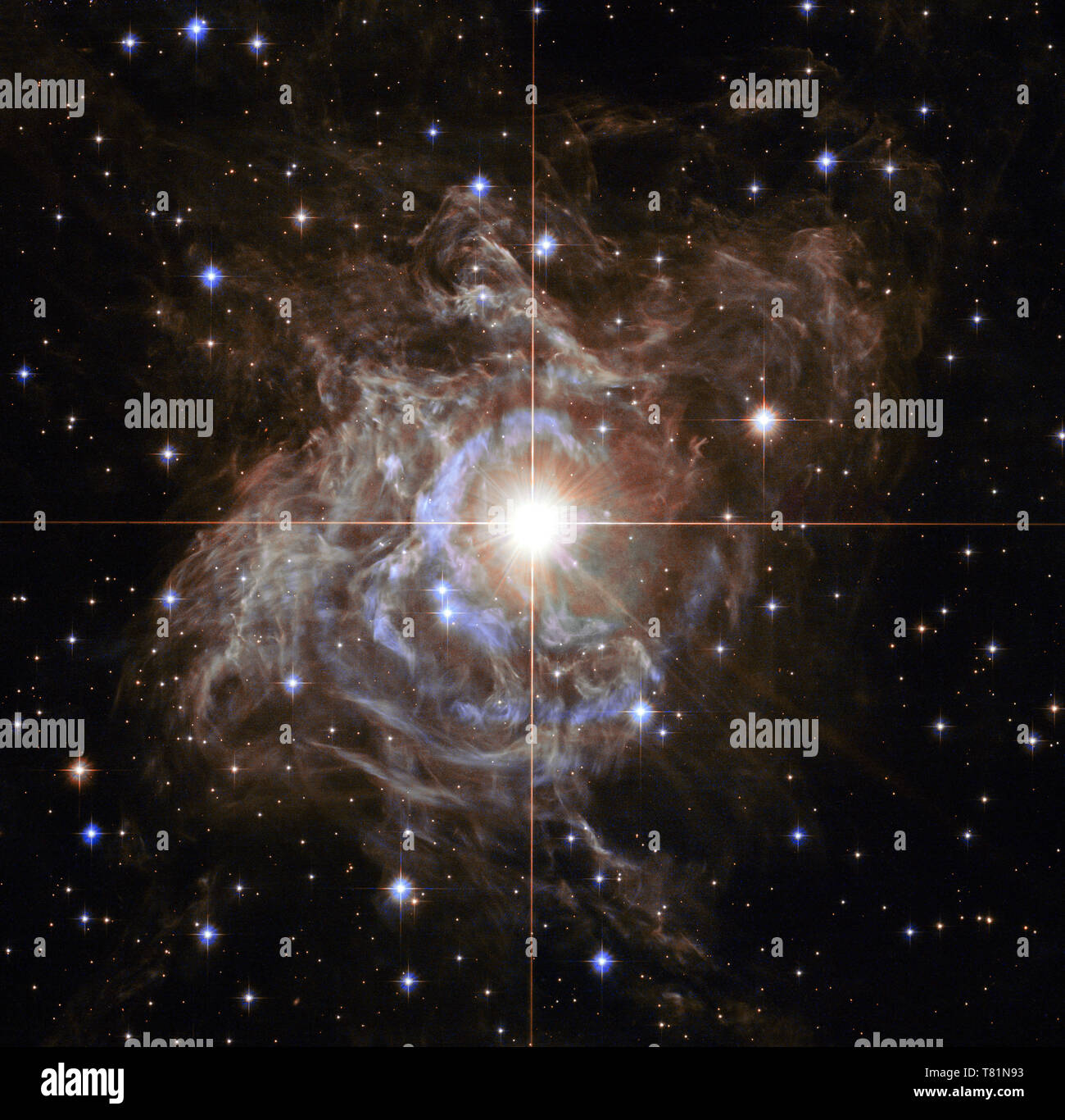 Variable Star RS Puppis - Stock Image