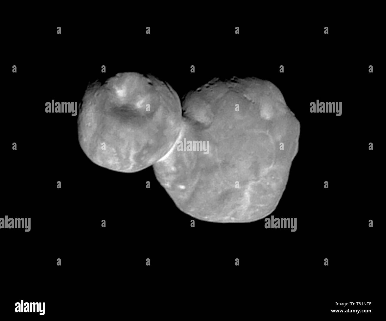 Ultima Thule, Kuiper Belt Object - Stock Image