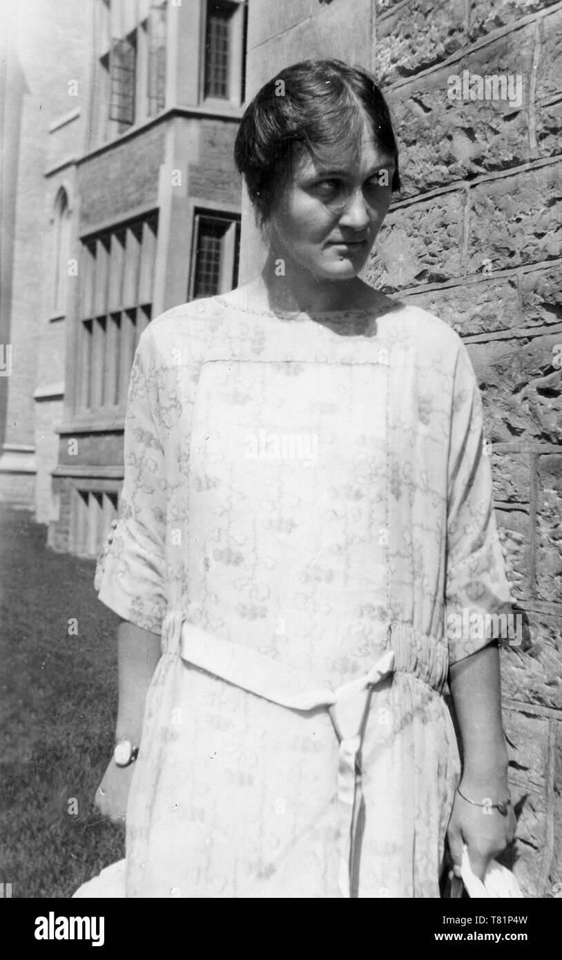 Cecilia Payne-Gaposchkin, American Astronomer - Stock Image