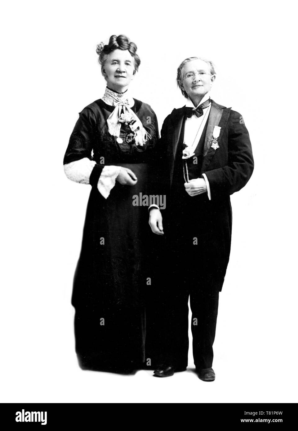 Belva Lockwood and Mary Walker, 1912 - Stock Image