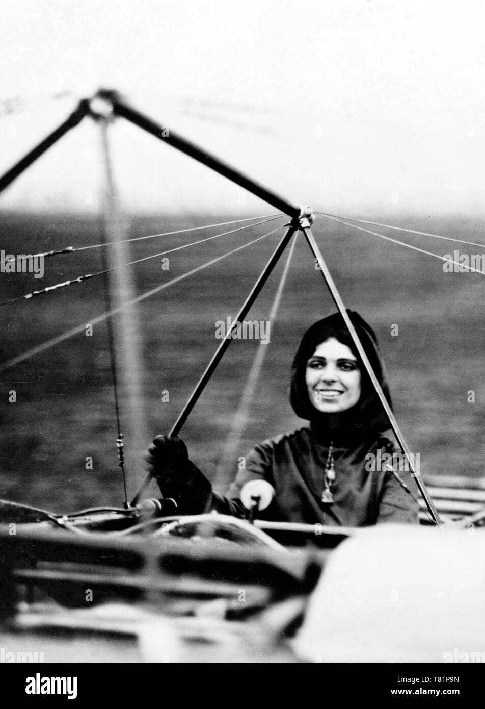 Harriet Quimby, American Aviatrix Stock Photo: 245901873 - Alamy