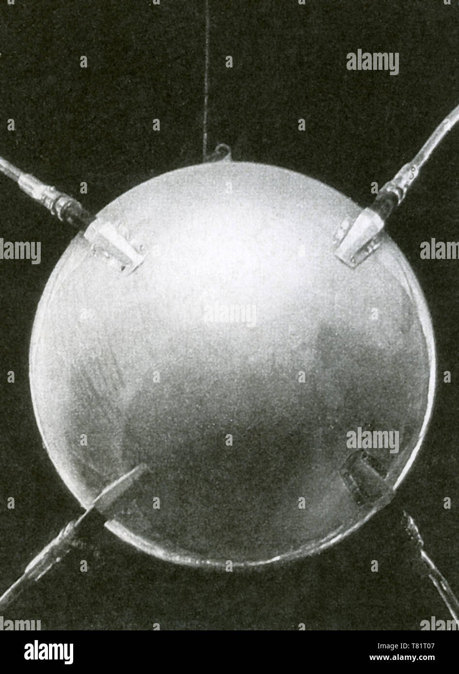 Sputnik 1 - Stock Image