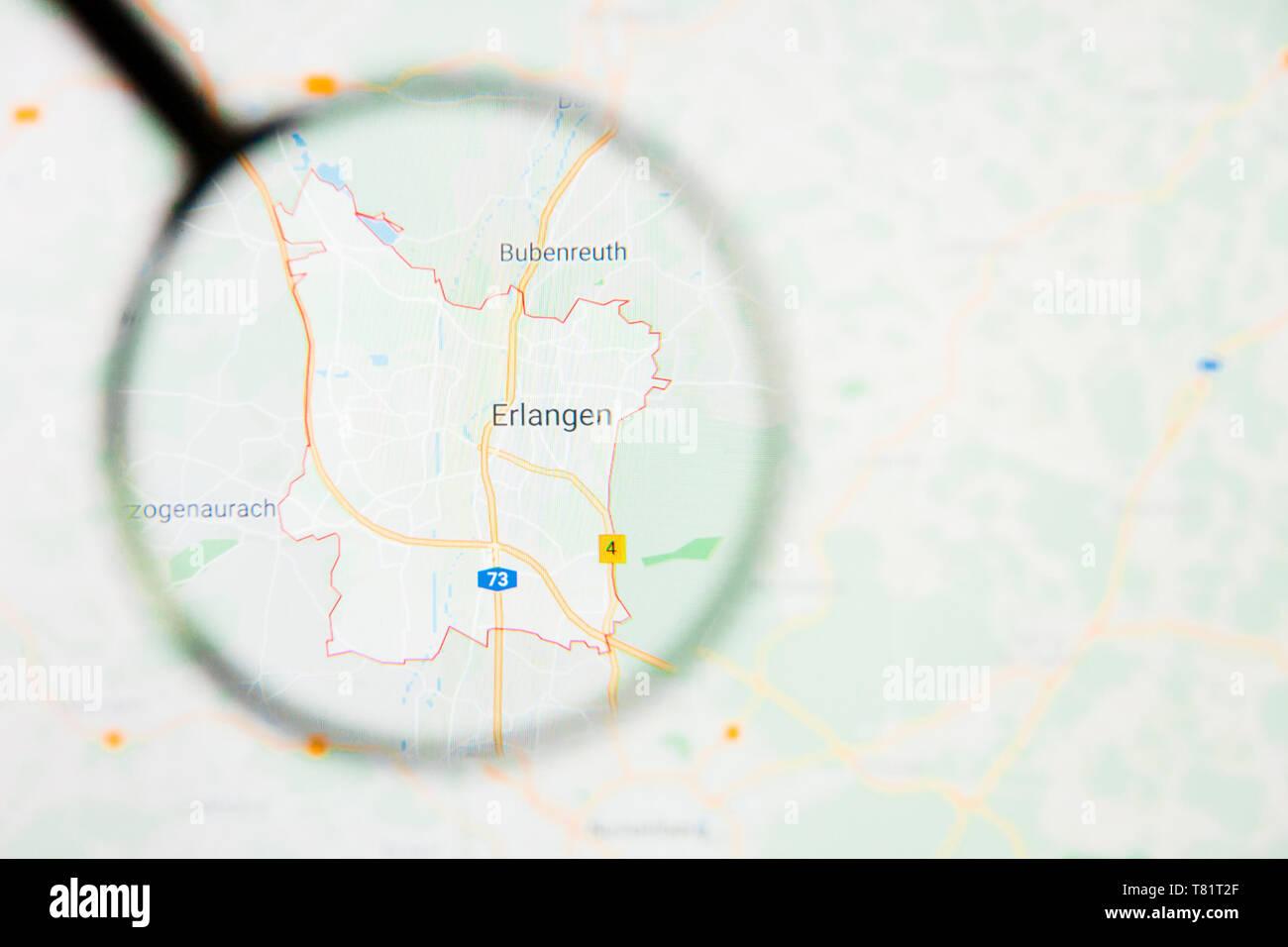 Map Of Germany Erlangen.Erlangen Stock Photos Erlangen Stock Images Alamy