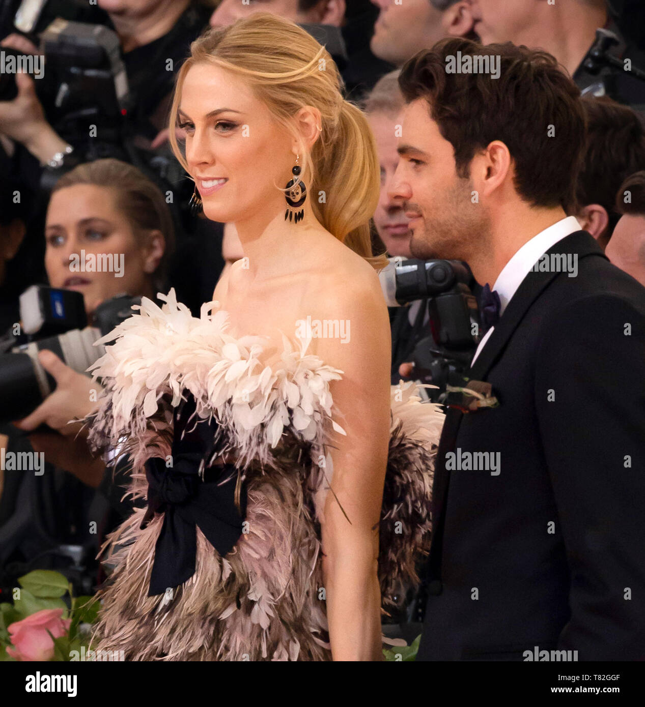 New York, NY - May 06, 2019: Guests arrive for the 2019 Met Gala celebrating Camp: Notes on Fashion at The Metropolitan Museum of Art - Stock Image