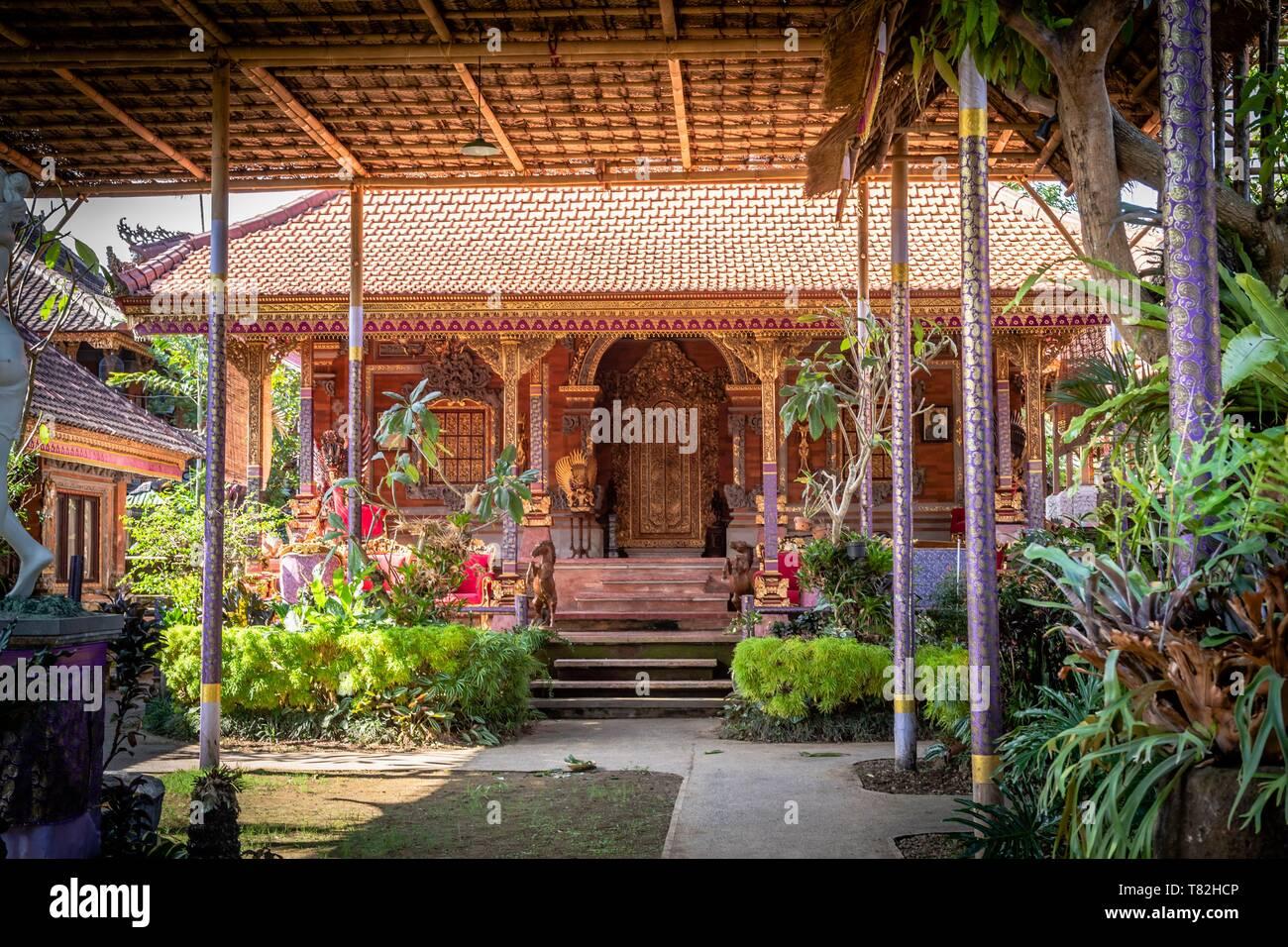 Indonesia, Bali, Ubud, Royal palace - Stock Image