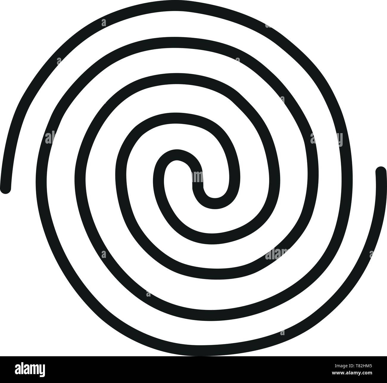 spiral galactic infinity energy flow cosmic pantha rhei connection - Stock Image
