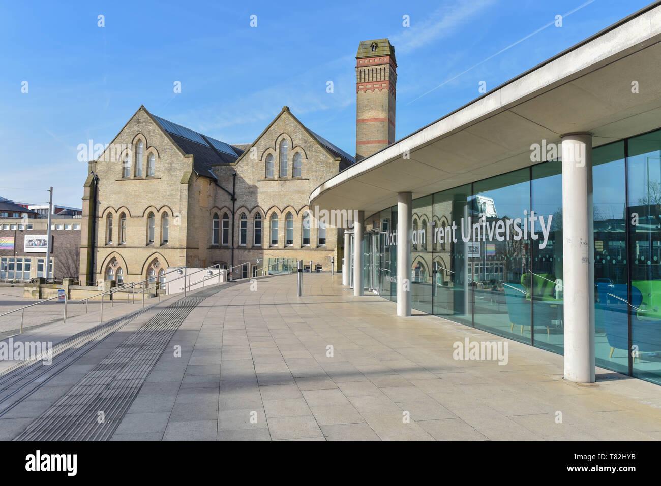 Nottingham Trent Campus - Stock Image