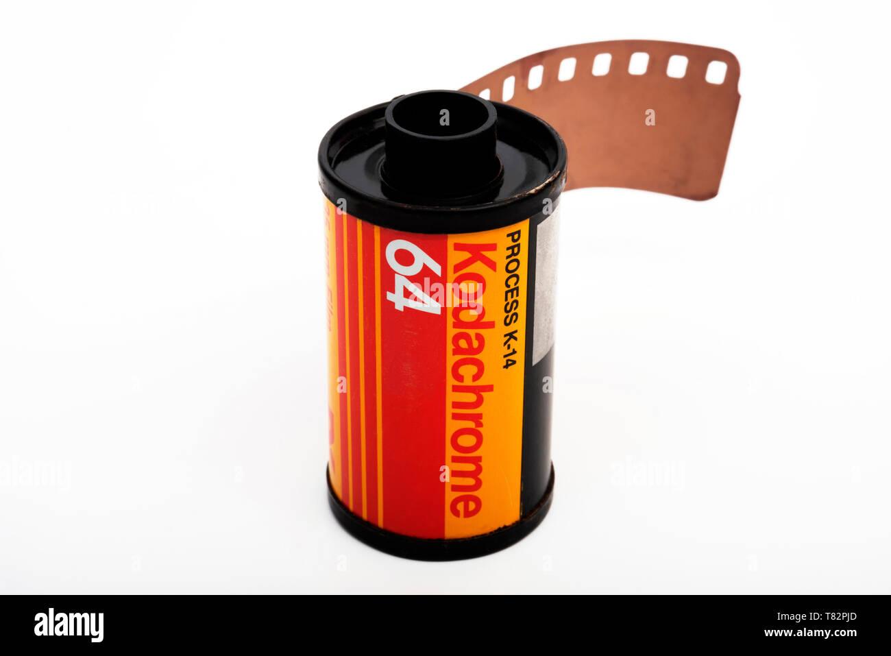 Kodachrome Film Stock Photos & Kodachrome Film Stock Images