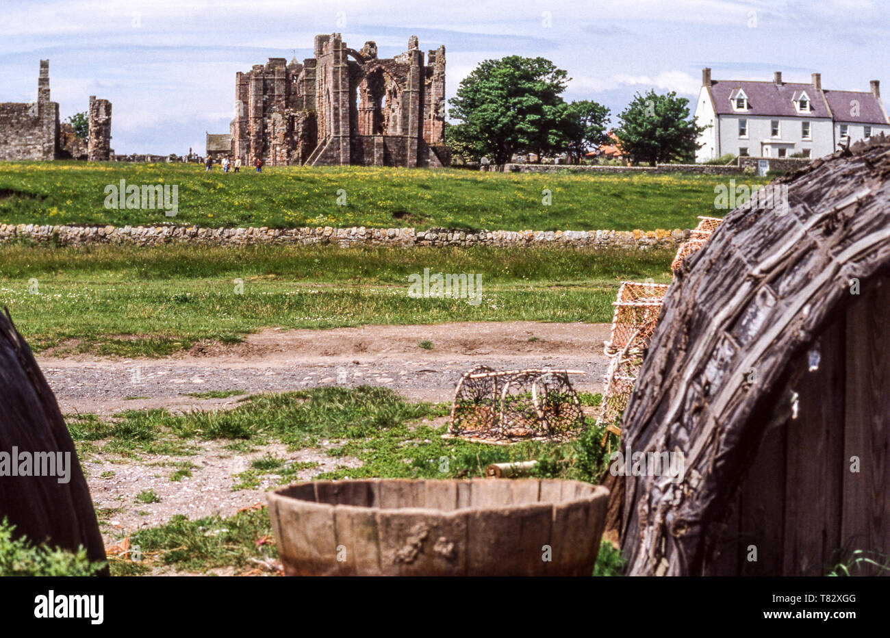 Northumberland. England. Lindisfarne or Holy Island. - Stock Image