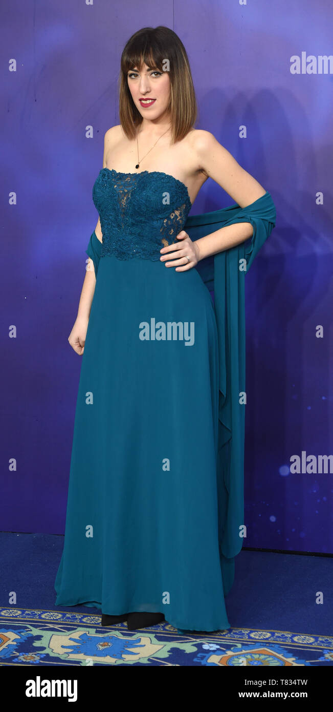 Photo Must Be Credited ©Alpha Press 079965 09/05/2019 Guest The European Gala Premiere Of Disney Aladdin Leicester Square London - Stock Image