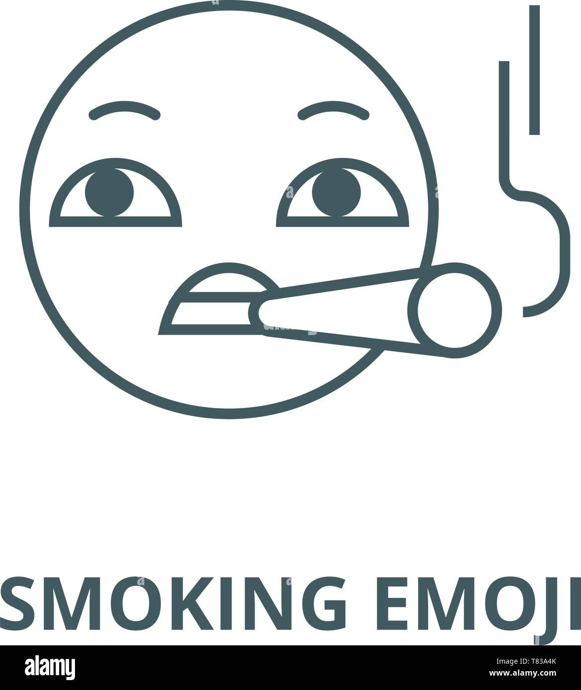 Smoking Smiley Stock Photos & Smoking Smiley Stock Images