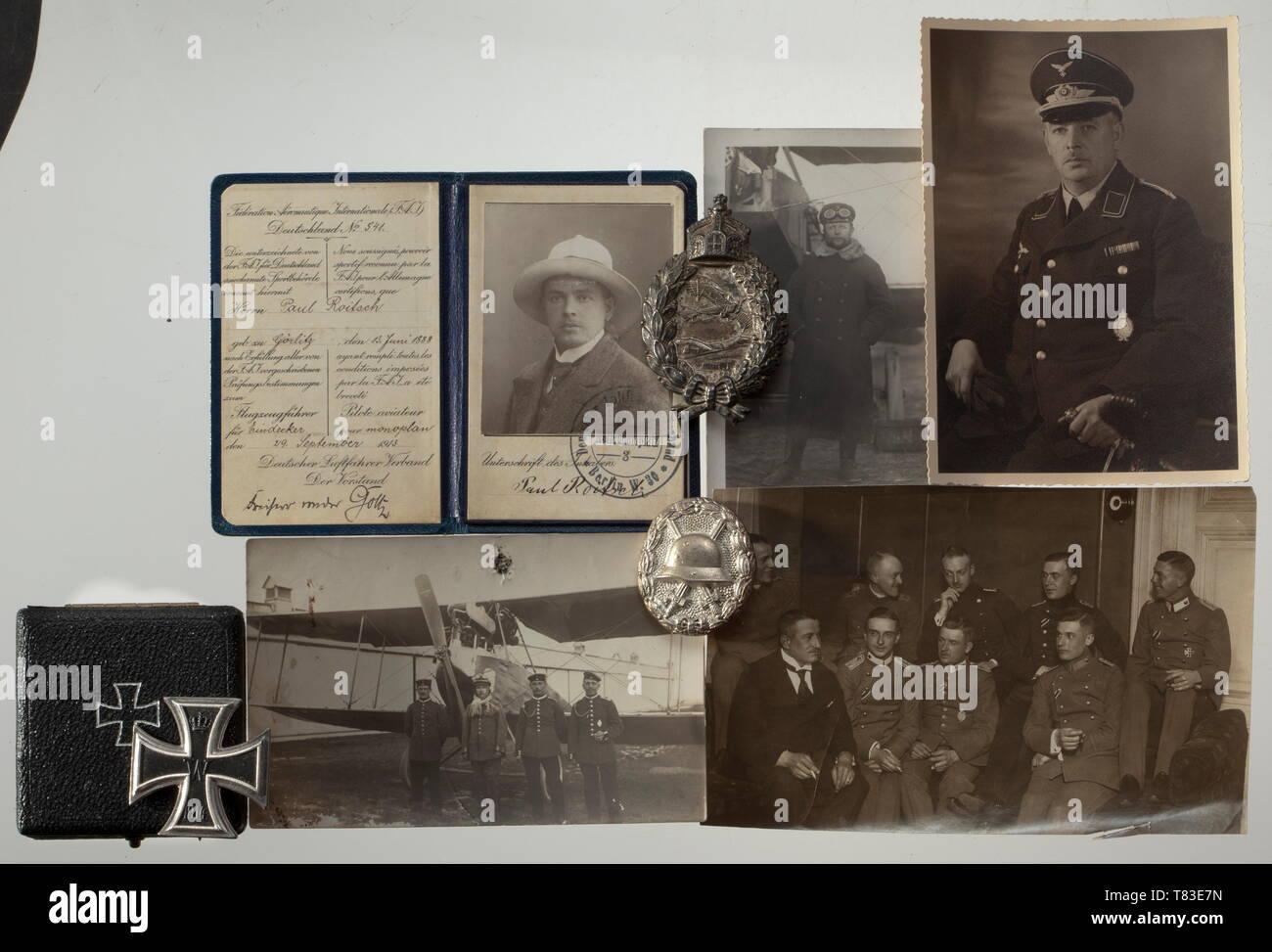 The estate of Paul Roitsch - Field Aviation Detachments 35