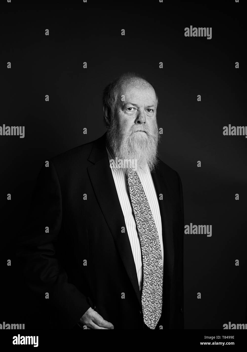 Christopher House at The Oldie Literary Lunch 07/05/19 - Stock Image