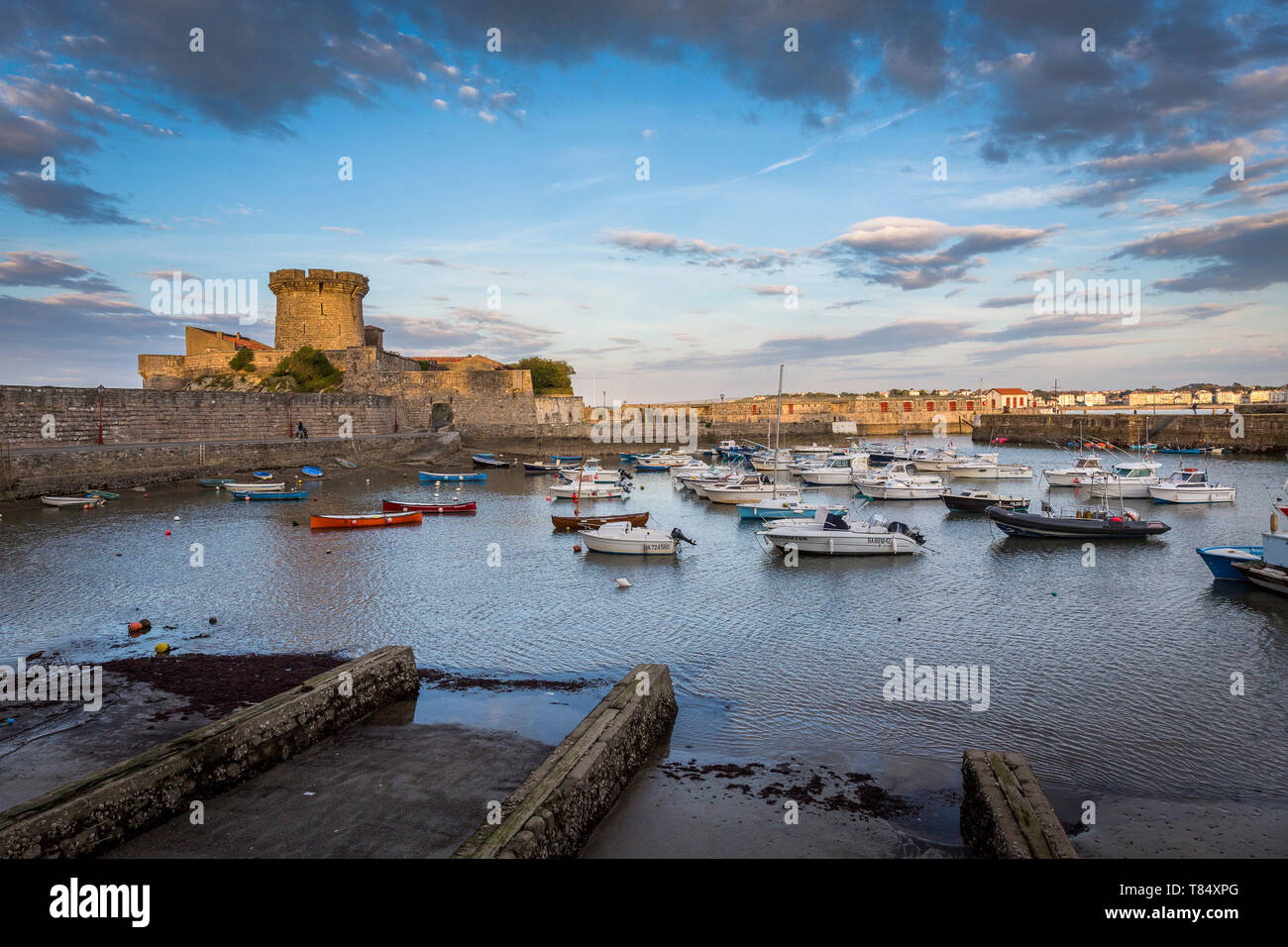 Socoa Fort in Ciboure, along the coast of the Basque Country. - Stock Image