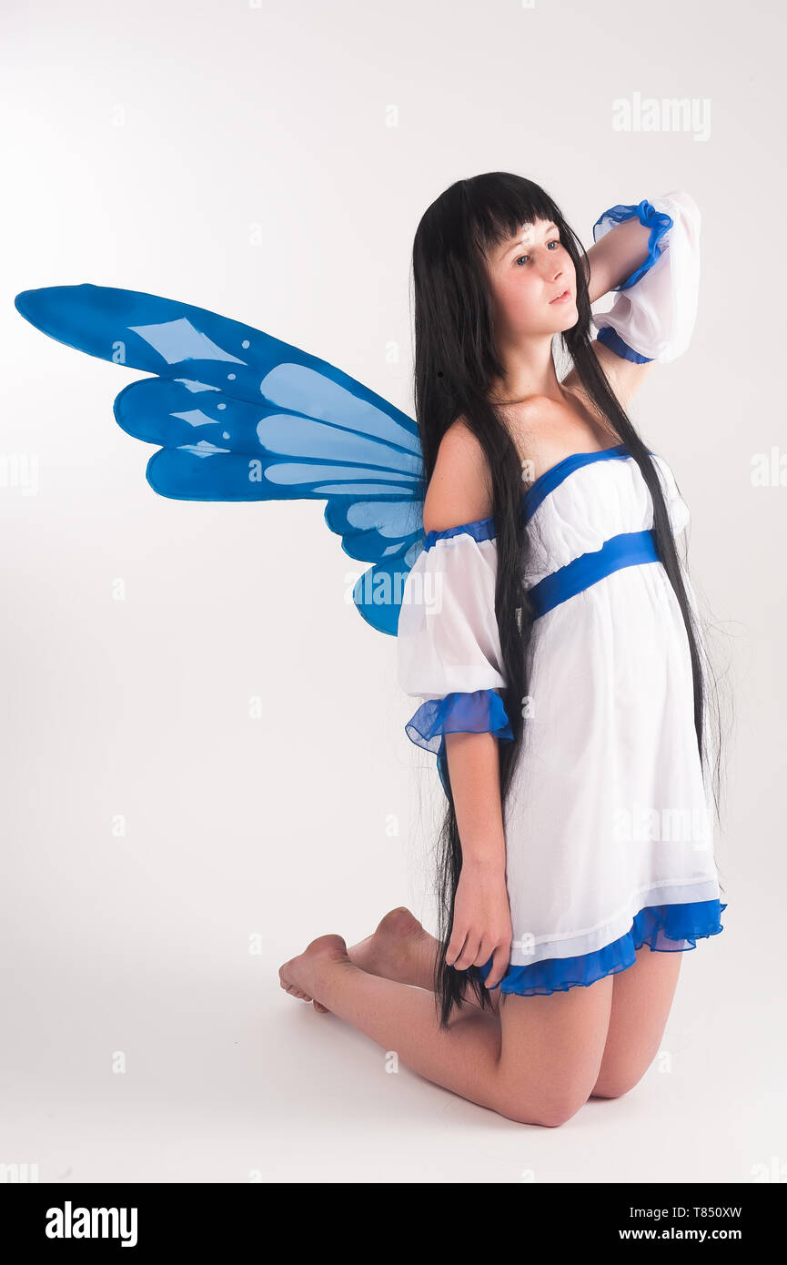 The Best Beautiful Anime Girls With Wings Background