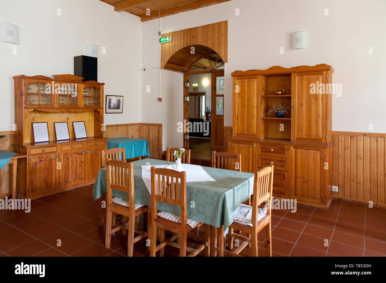 Palmse Manor Restaurant Dining Room - Stock Image