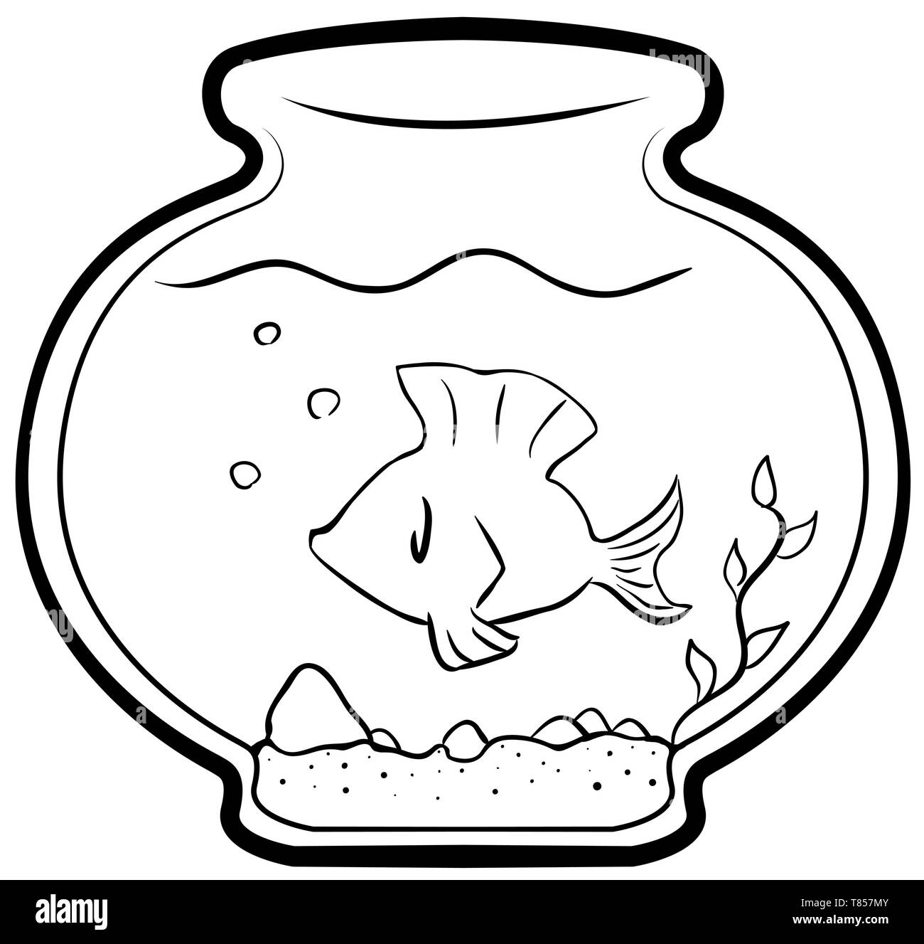 6+ Fish Black And White Clipart - Preview : Fish-black-white- | HDClipartAll