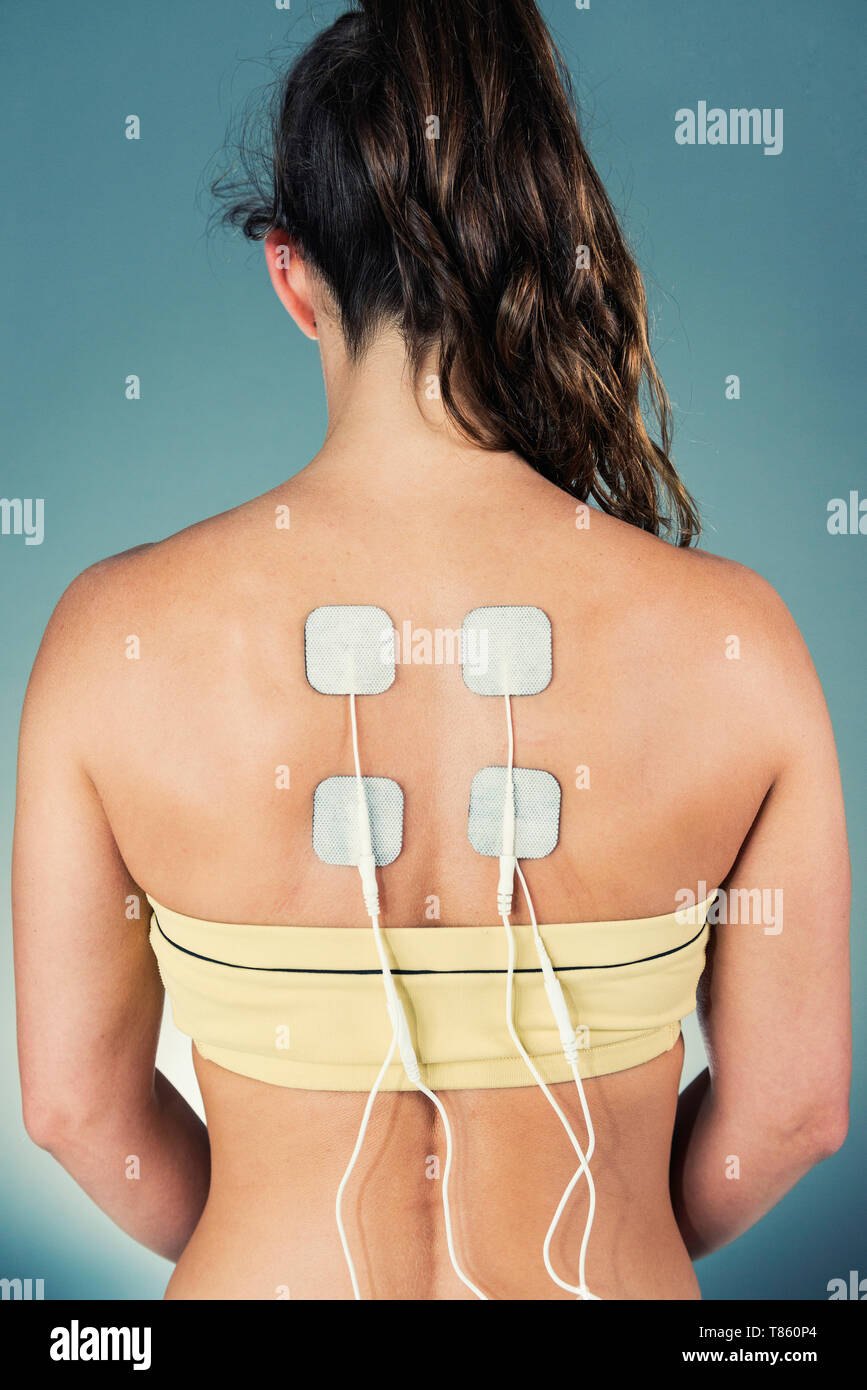 TENS therapy - Stock Image