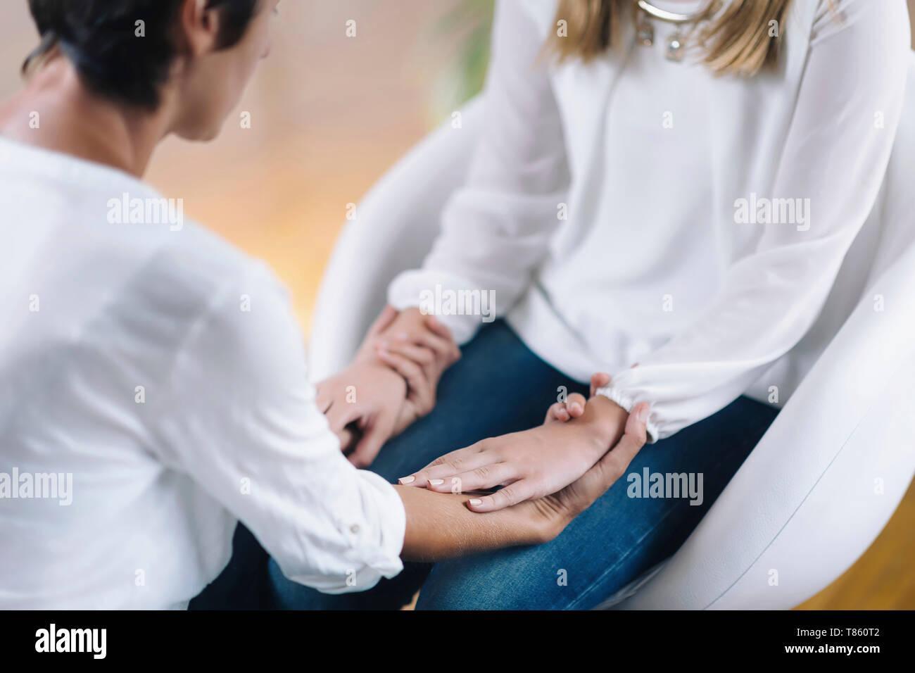 Theta healing therapy - Stock Image