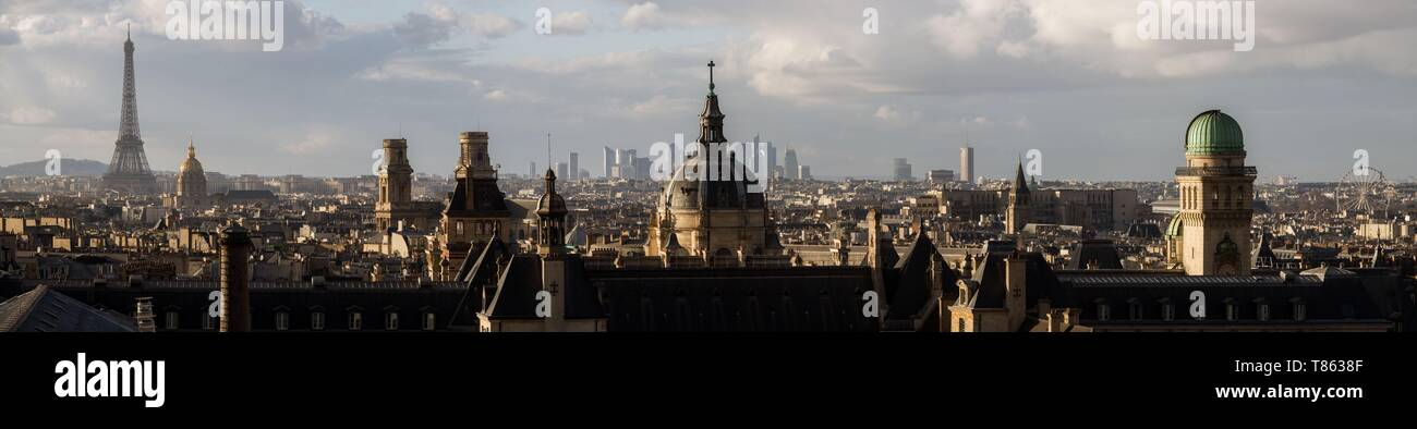 France, Paris, overall view - Stock Image