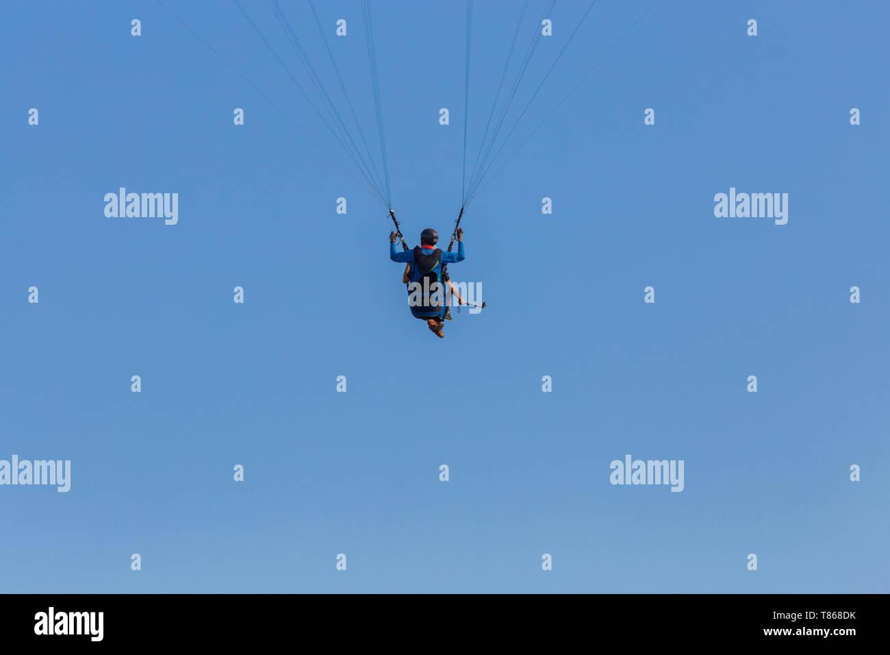 Paragliding Pilot Stock Photos & Paragliding Pilot Stock Images - Alamy