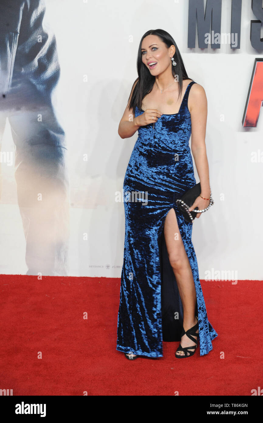 Linzi Stoppard at the Mission Impossible Fallout premiere, BFI Imax, London - Stock Image