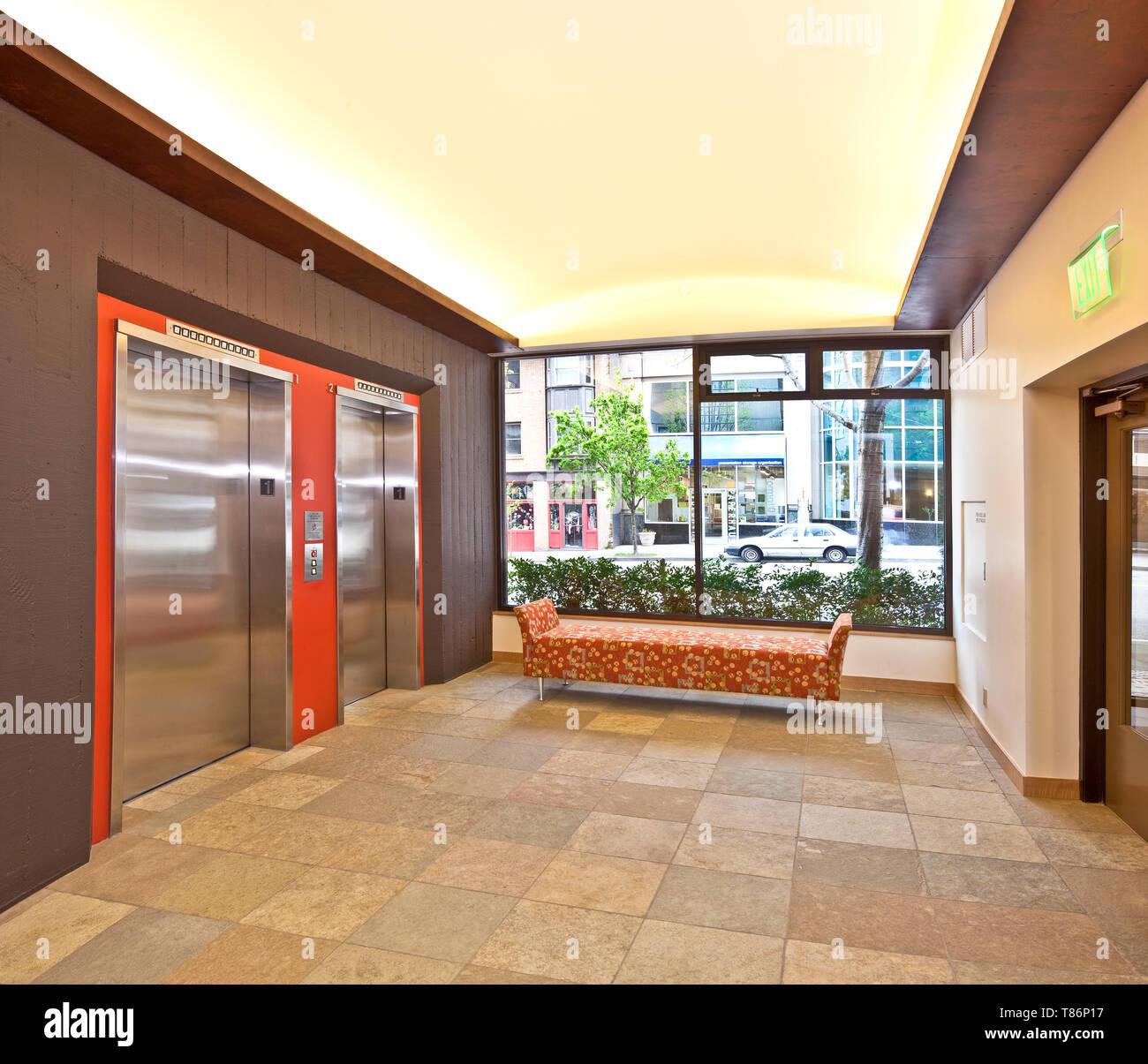 Modern Office Building Lobby Stock Photo: 246011395 - Alamy