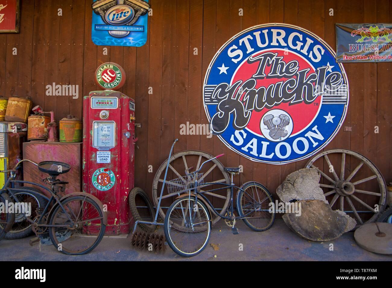 United States, South Dakota, Sturgis - Stock Image