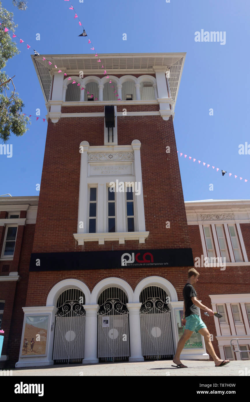 Perth ,Western Australia, Australia - 20/01/2013 : Perth institute of contemporary arts, PICA Building. - Stock Image