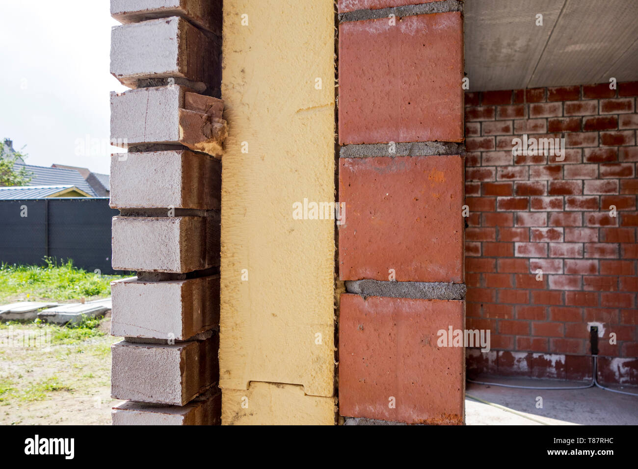 Wall Insulation High Resolution Stock Photography And Images Alamy