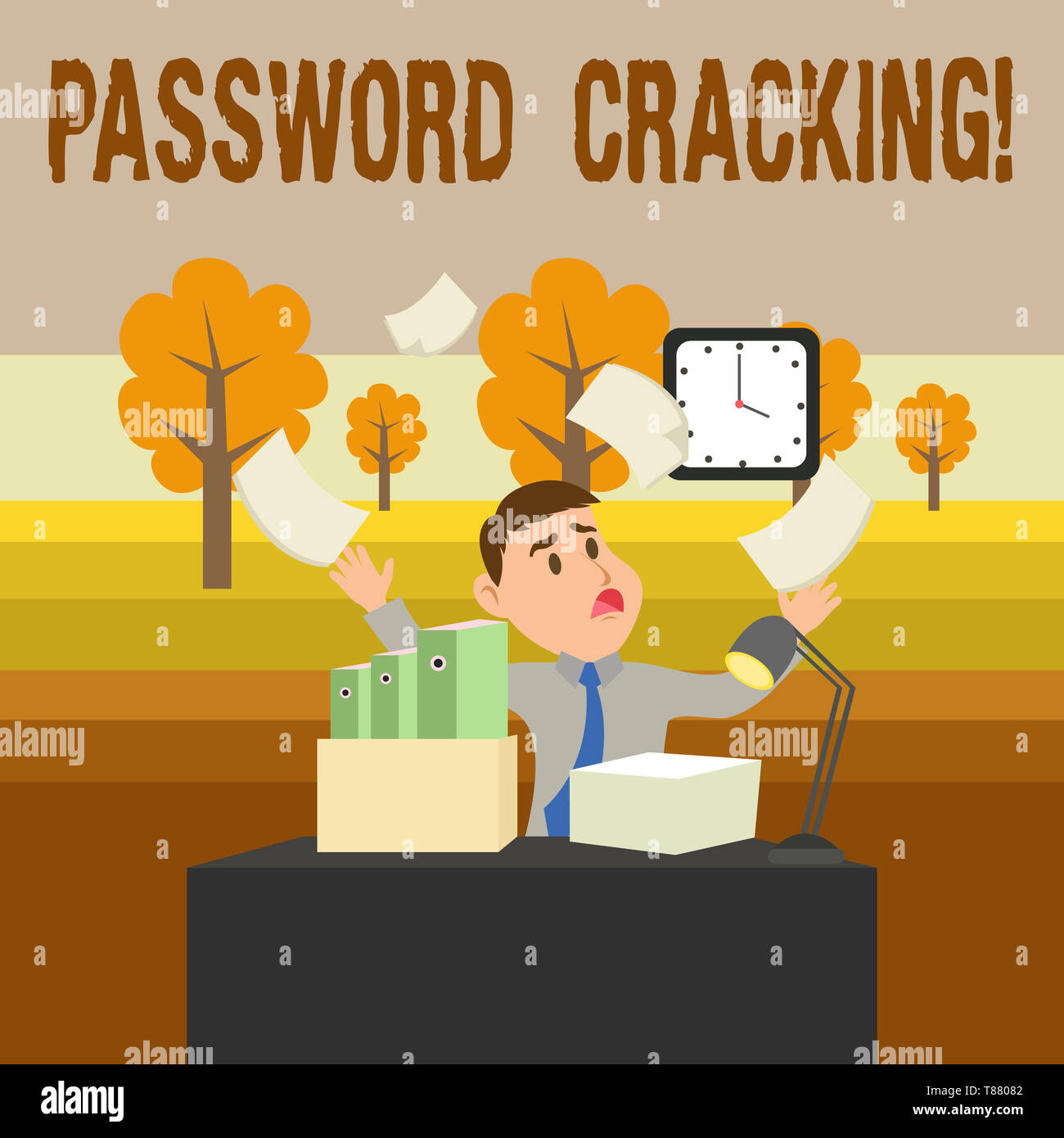 Conceptual hand writing showing Password Cracking  Concept meaning