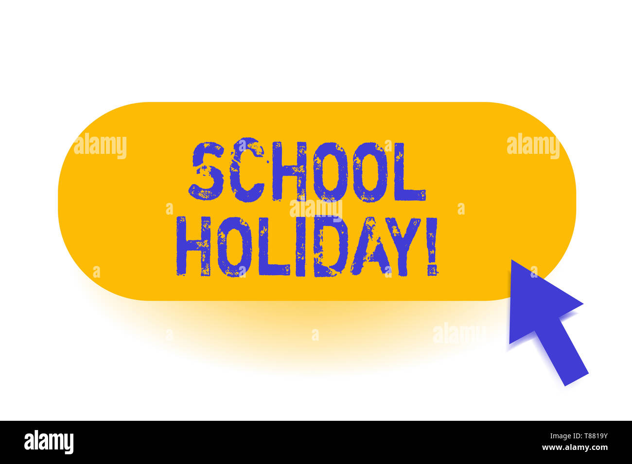 Handwriting text School Holiday. Conceptual photo the periods during which schools are closed from study - Stock Image