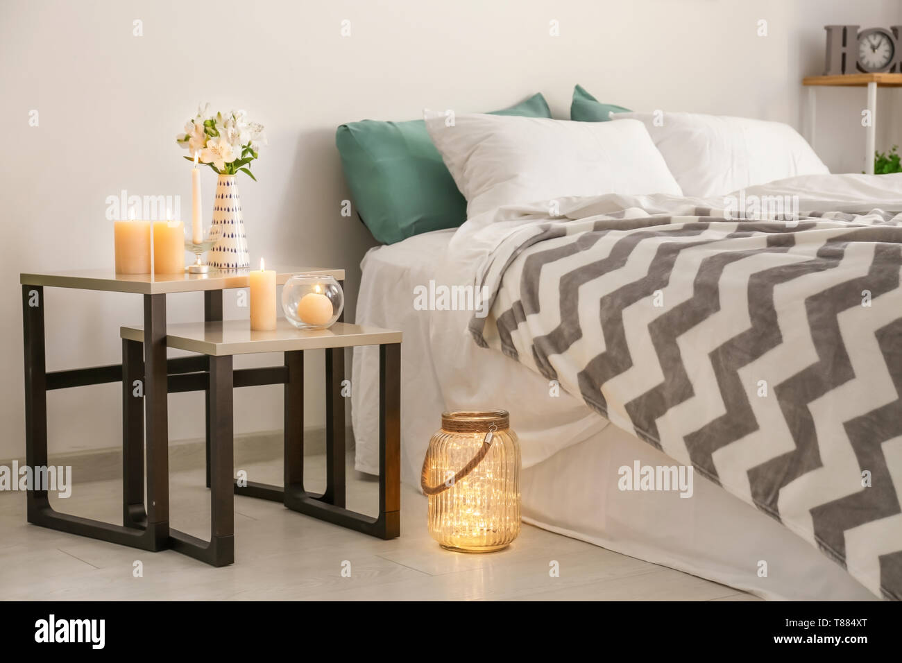 Bedroom Candles High Resolution Stock Photography And Images Alamy