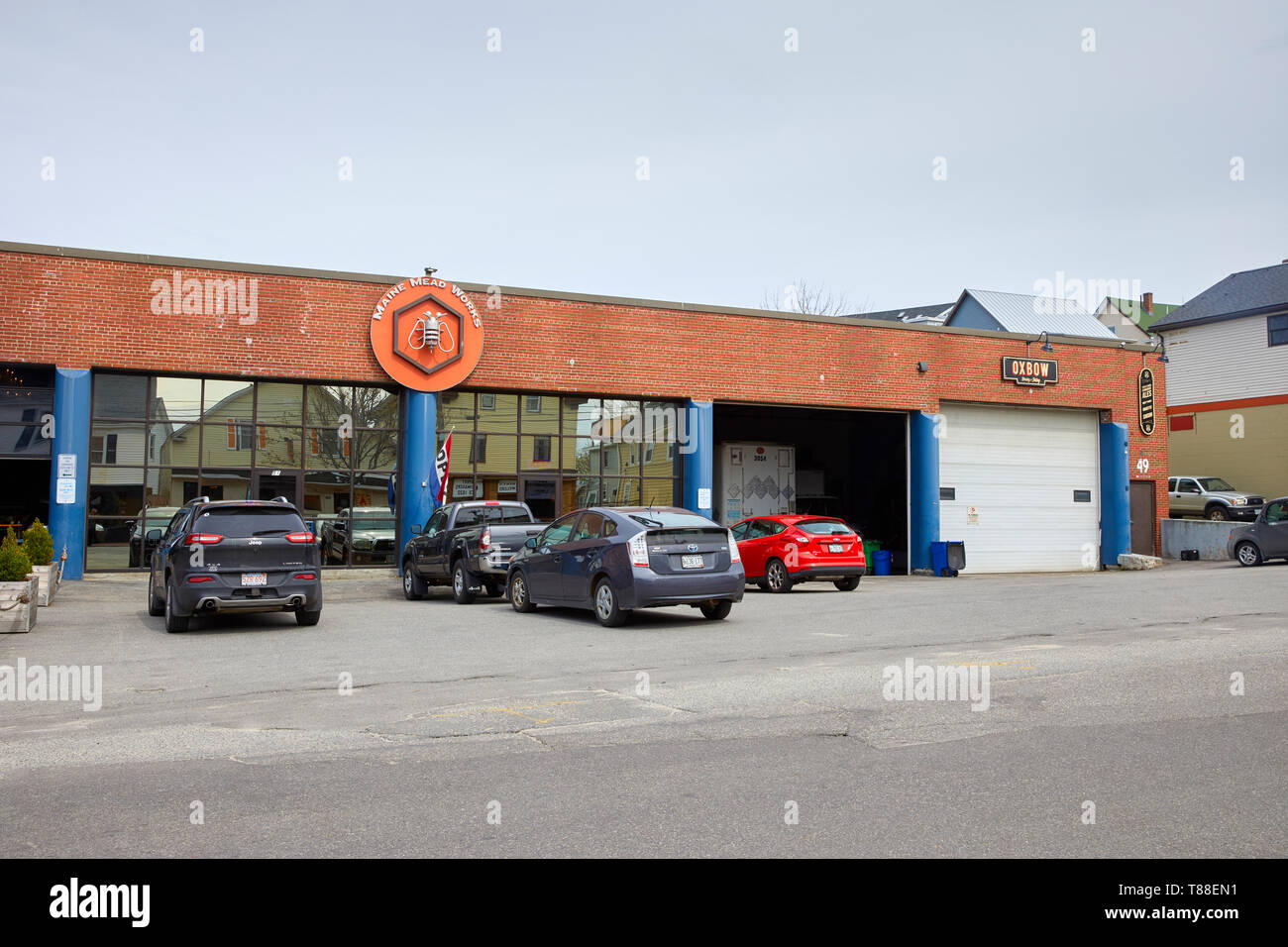 mead high resolution stock photography and images alamy https www alamy com maine mead works on washington avenue in porland maine me united states usa image246049581 html