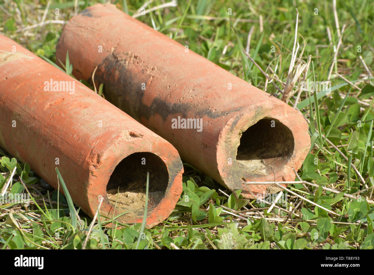 Clay Pipe Stock Photos & Clay Pipe Stock Images - Alamy