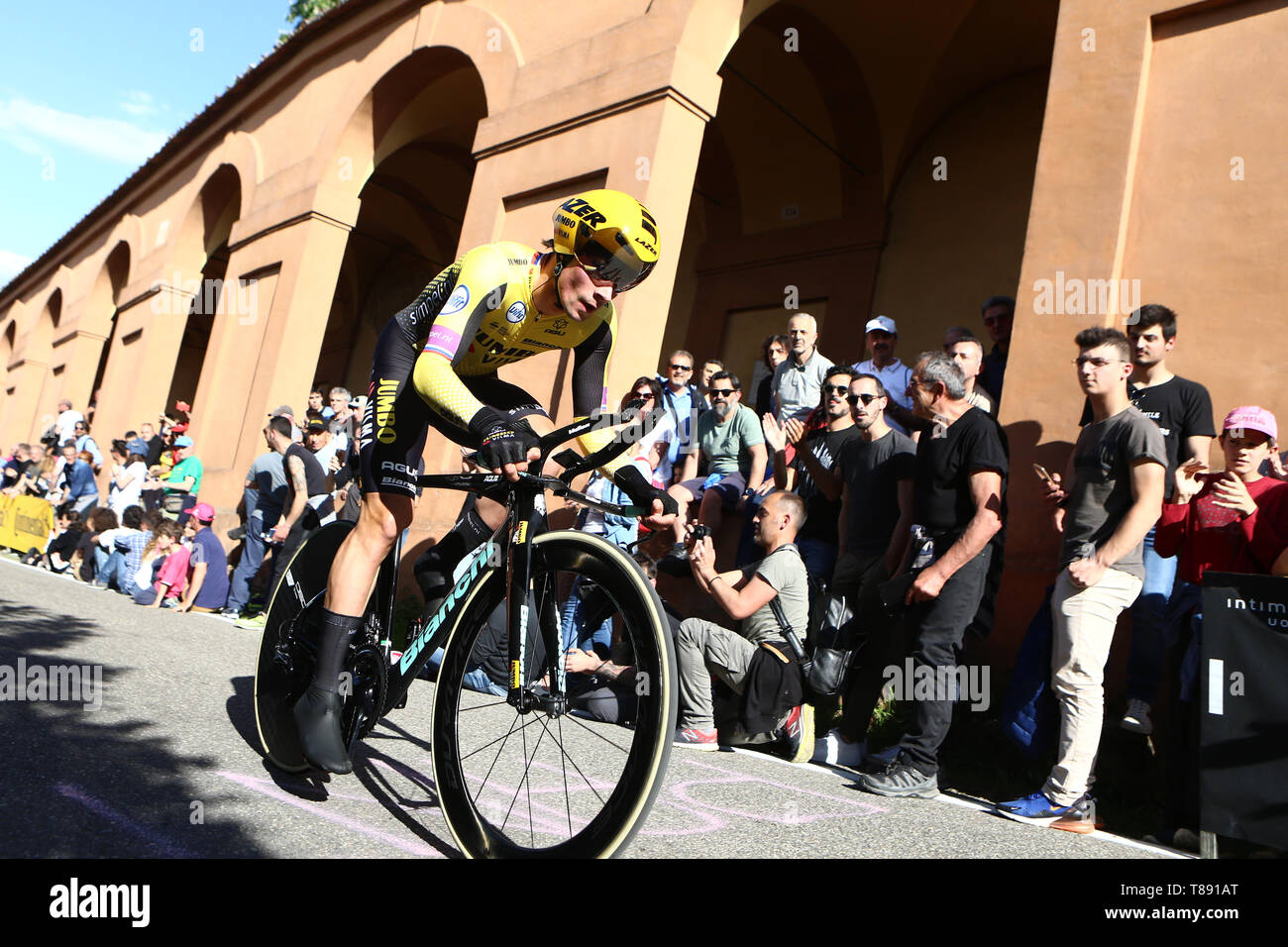 Bologna Italy 11th May 2019 Giro D Italia Cycling Stage 1 Bologna To San Luca Primoz