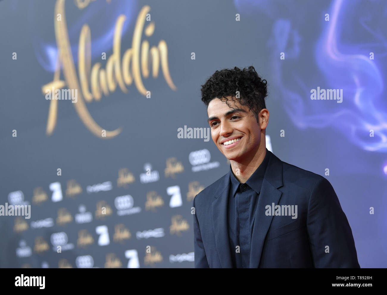 Berlin Germany 11th May 2019 11 May 2019 Germany German Berlin Actor Mena Massoud Comes To The German Premiere Of The New Disney Film Aladin Massoud Plays The Title Role In The