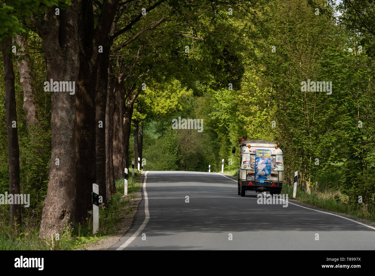 Small Caravan Stock Photos & Small Caravan Stock Images