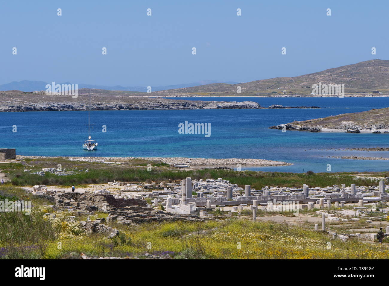 Delos  3rd May, 2019  Photo taken on May 3, 2019 shows the