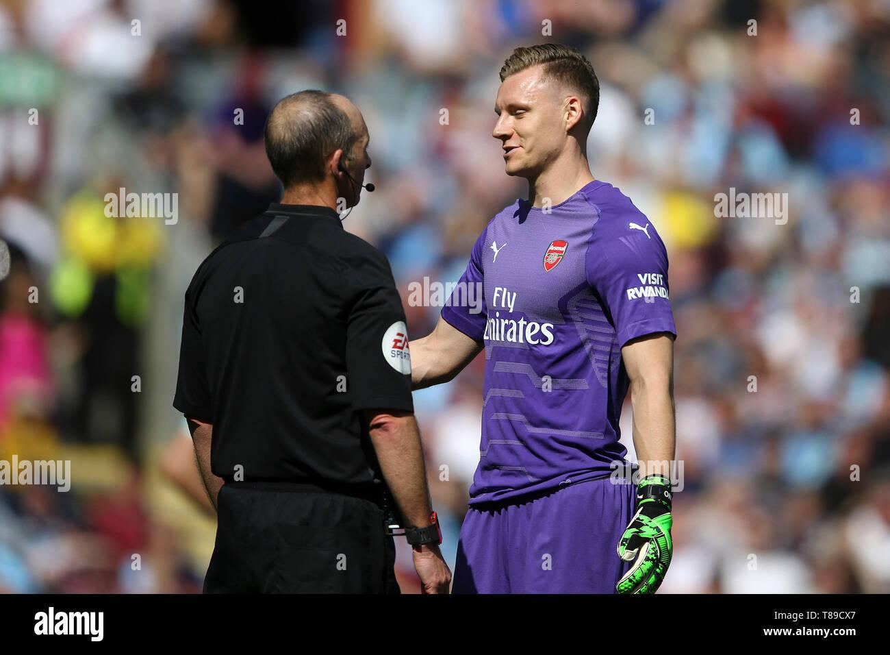 buy popular e1926 13038 Burnley, UK. 12th May, 2019. Arsenal Goalkeeper Bernd Leno ...