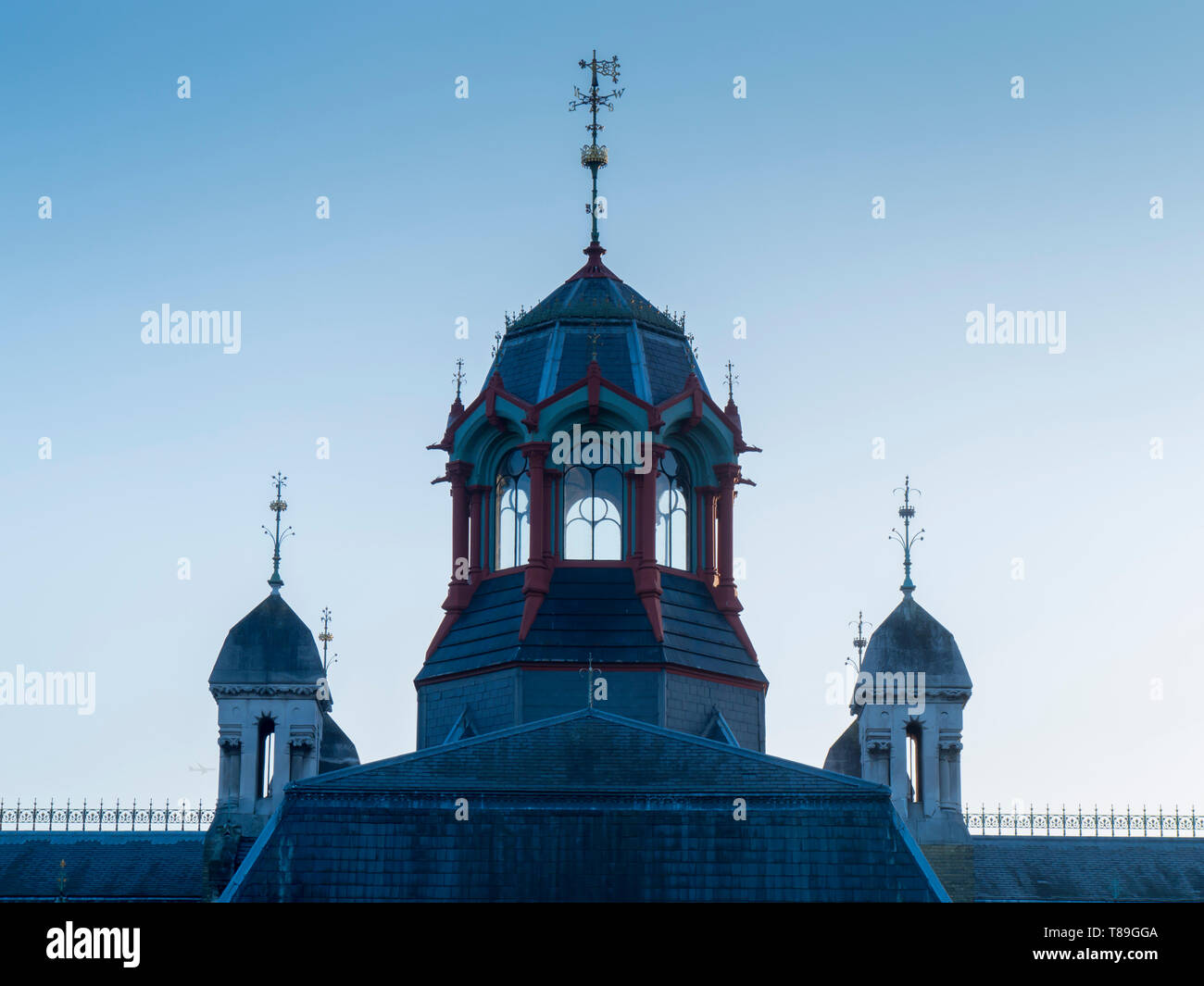 Europe, UK, England, London, Stratford Abbey Mills Pumping Station - Stock Image