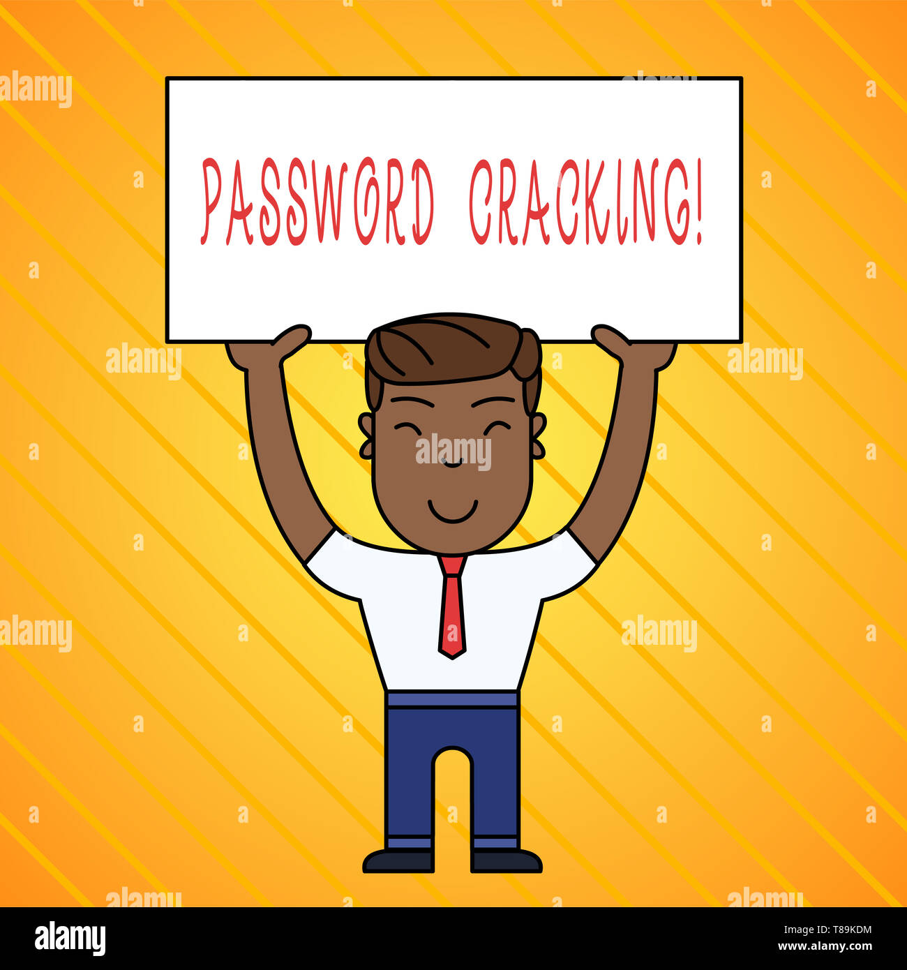 Word writing text Password Cracking  Business photo