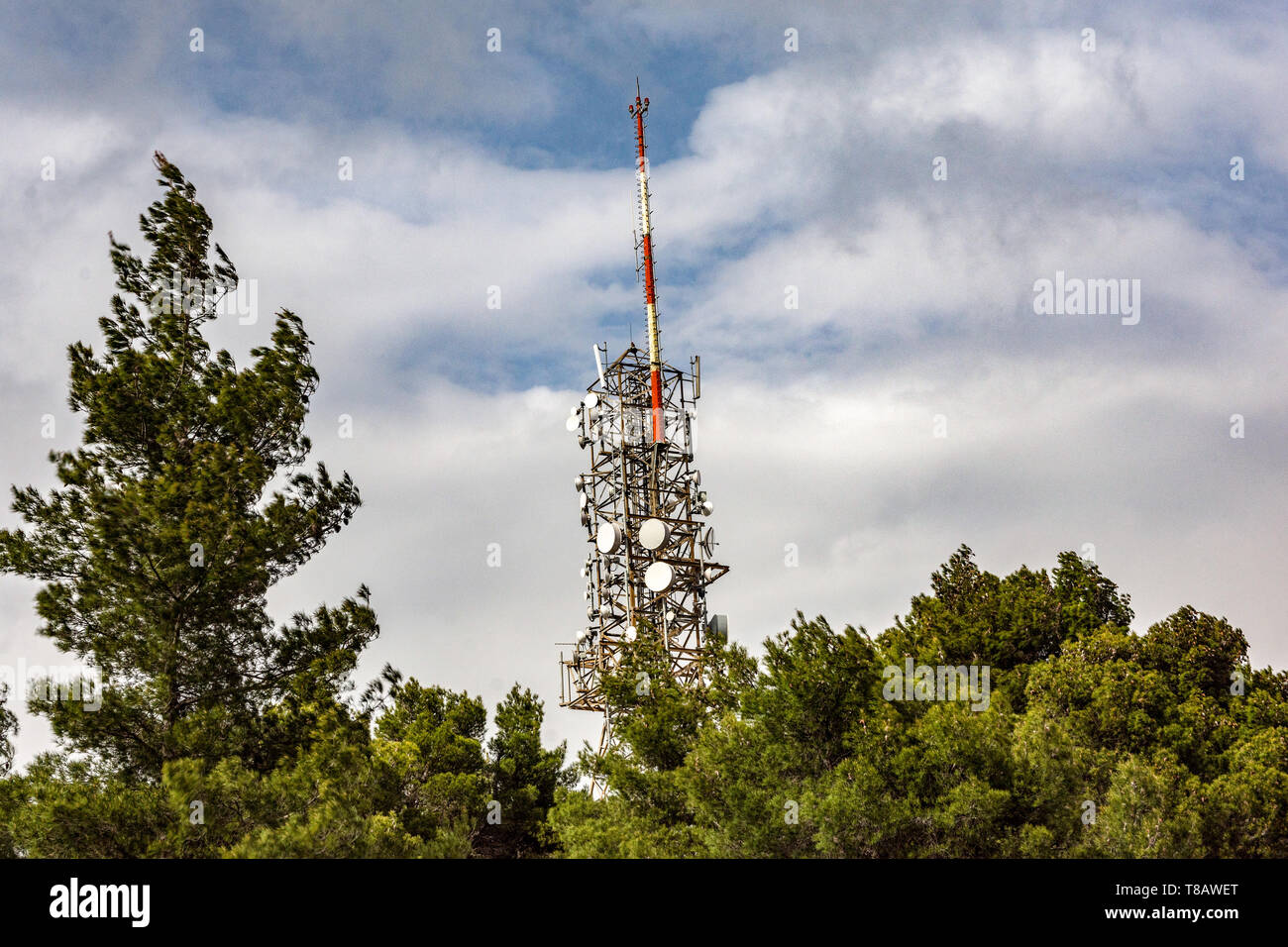 Broadcast Towers Stock Photos & Broadcast Towers Stock