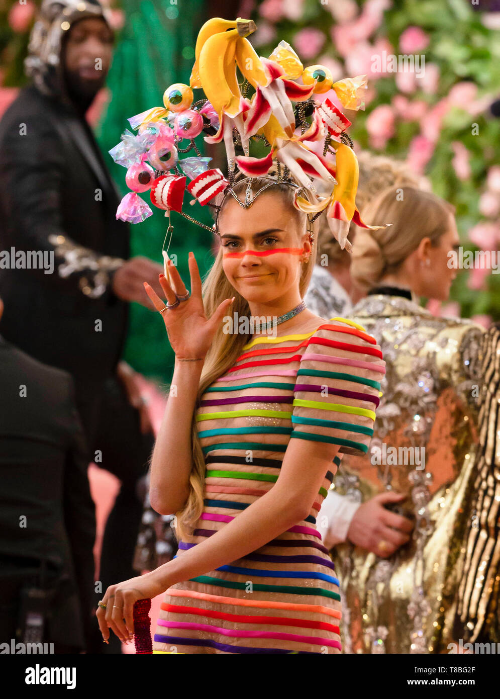 New York Ny May 06 2019 Cara Delevingne Arrives For The 2019