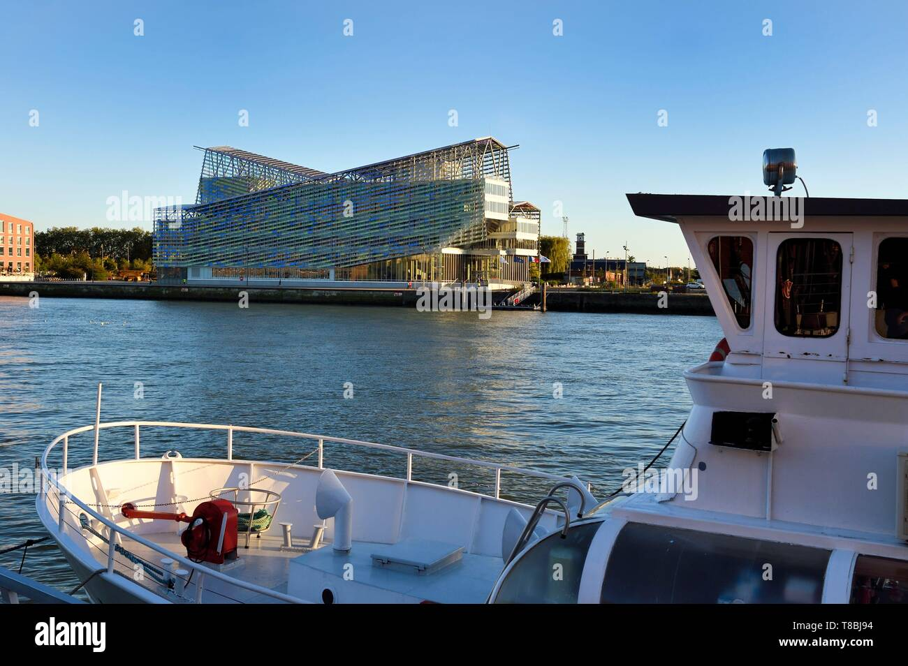 France, Seine Maritime, Rouen, headquarter of the Rouen Normandie Metropolis, an intercommunal structure centred on the city of Rouen - Stock Image