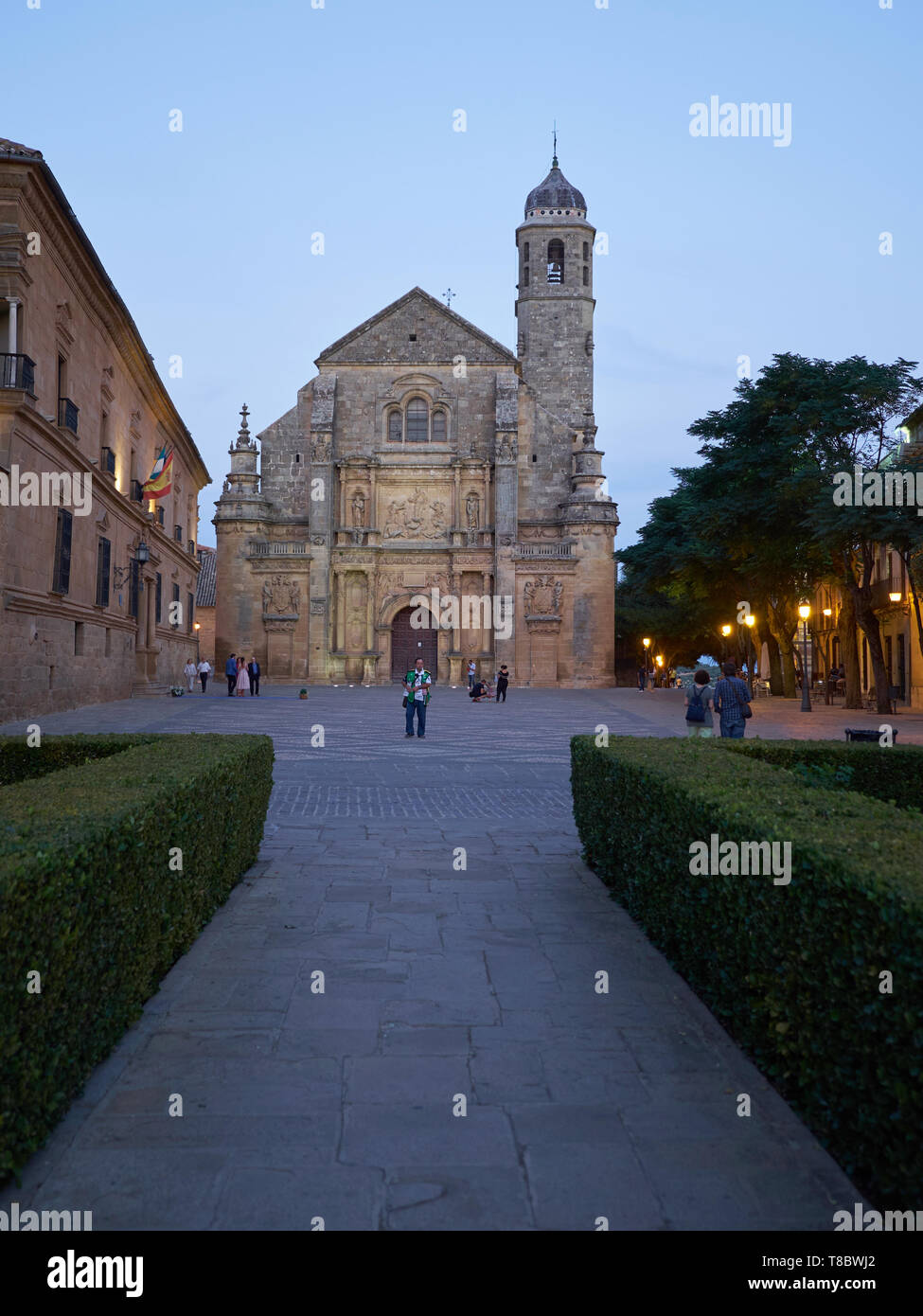 Church of El Salvador - Unesco World Heritage -. Úbeda, Jaén, Andalusia, Spain. Stock Photo