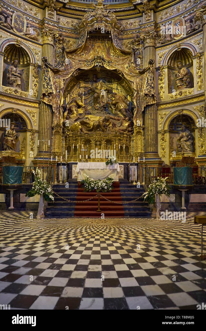 Sacra Capilla del Salvador. Úbeda, Jaén, Andalusia, Spain. Stock Photo
