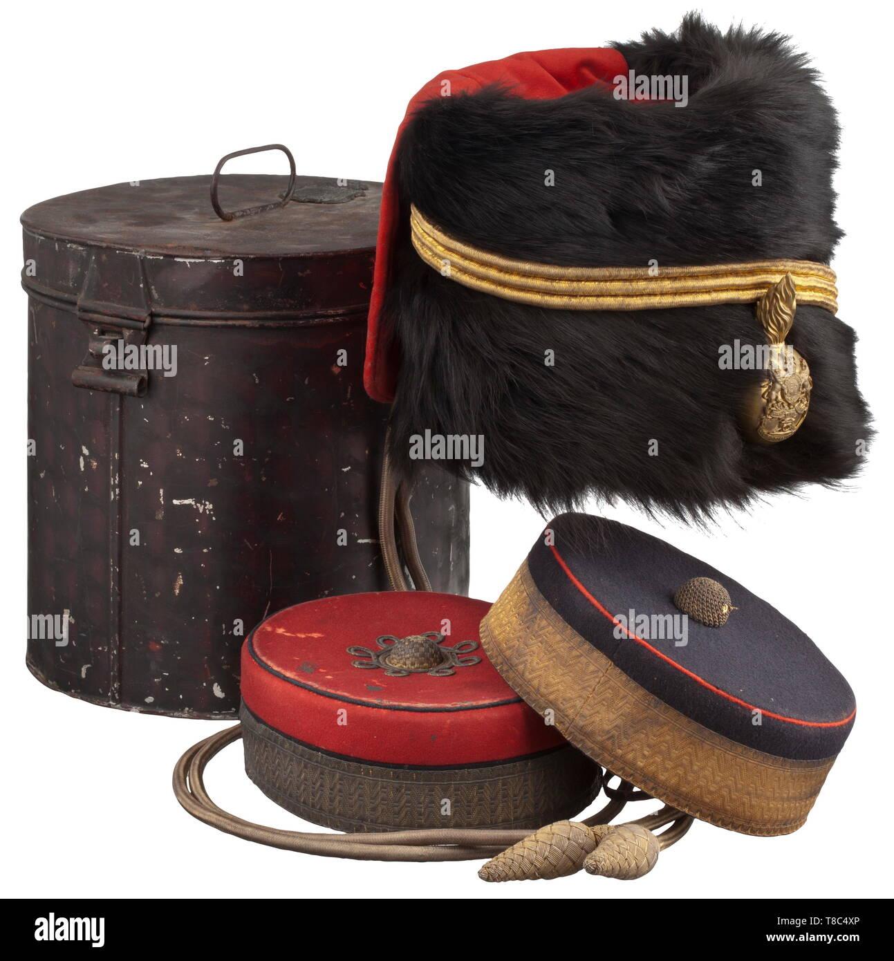 f623e959c A fur cap for officers of the Royal Horse Artillery, circa 1900 The ...