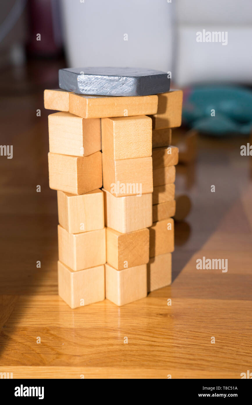 toys wood stock photos & toys wood stock images - alamy