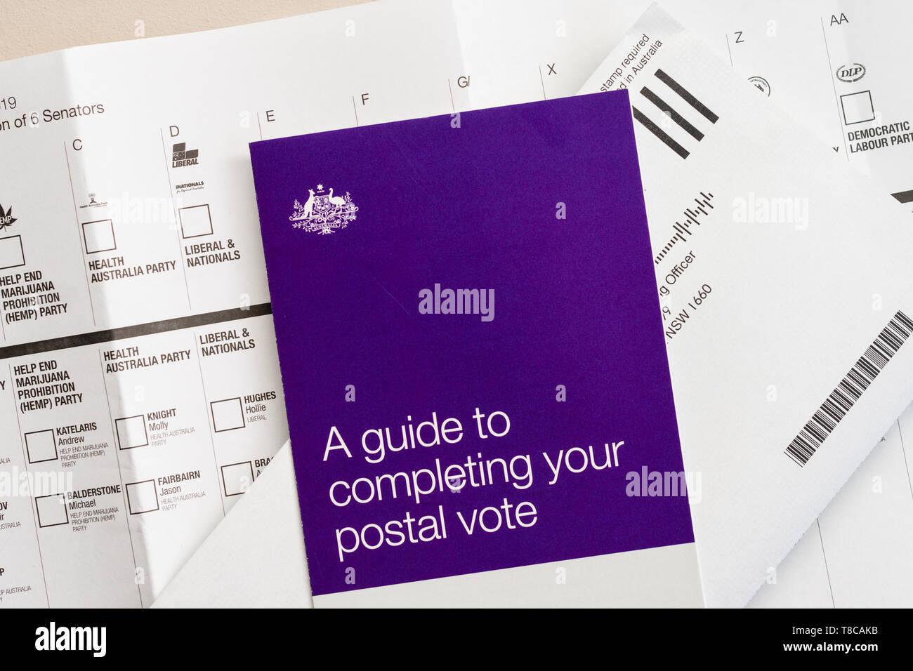 Australian Election Voting Stock Photos & Australian Election Voting